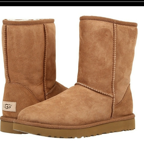 c5457060630 UGG Australia Classic Mid Length Chestnuts Boots